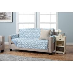 Home Fashion Designs Liliana Collection Deluxe Reversible Sofa