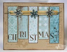 Out the Popsicle Sticks! Love this homemade Christmas Card - wish I had this kind of creativity!Love this homemade Christmas Card - wish I had this kind of creativity! Christmas Card Wishes, Xmas Cards, Holiday Cards, Cute Cards, Diy Cards, Homemade Christmas, Christmas Crafts, Christmas Christmas, Christmas Letters