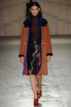 Marco de Vincenzo Fall 2014 Ready-to-Wear Fashion Show