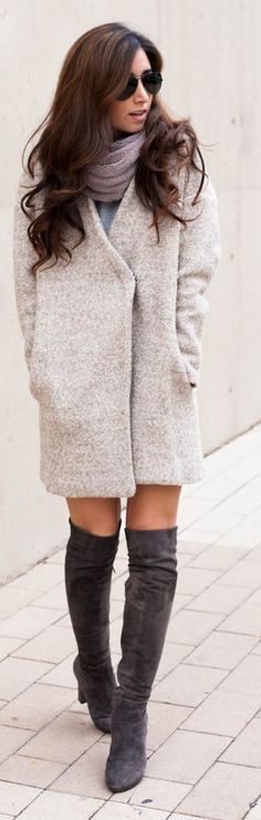 Neutral Chic Coat