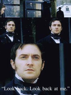 """""""Look back. Look back at me!"""" John Thornton, North and South (BBC, The definitive Richard Armitage performance, from the novel by Elizabeth Gaskell. Elizabeth Gaskell, Period Movies, Period Dramas, Richard Armitage, Jane Austen, Movies Showing, Movies And Tv Shows, North And South, John Thornton"""