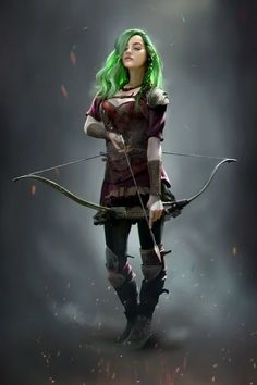 DnD Wood Elf by Henrique Dld - Your Daily Dose of Amazing beautiful Creativity and Digital Art - Fantasy Characters: Archers Assassins Astronauts Boners Knights Lovers Mythology Nobles Scholars Soldiers Warriors Witches Wizards Archer Characters, Elf Characters, Dungeons And Dragons Characters, Fantasy Characters, Fictional Characters, Ranger Dnd, Elf Ranger, Fantasy Witch, Fantasy Warrior
