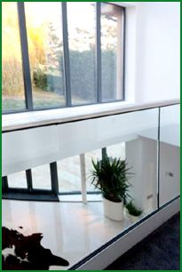 The Glass Garden Balcony Glass Balcony, Glass Garden, Contemporary Style, Modern, Banisters, Glass Panels, Entryway Tables, Study, Furniture