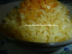 Fragrant Golden Fried Pearl White Rice