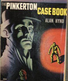 "Detective Stories: ""The Pinkerton Case Book"" | Vintage Paperback Books | 1948 | Hard boiled fiction by HudsonPulpAndRockets on Etsy"