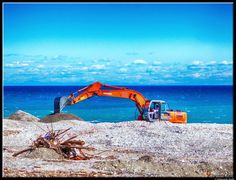 Work at the beach by Giancarlo Gallo