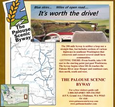 The Palouse Scenic Byway - Day Tripping