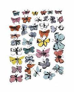 Andy Warhol - Butterflies, 1955