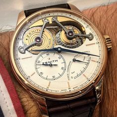 Zenith Watches Academy Georges Favre-Jacot by equationdutemps.