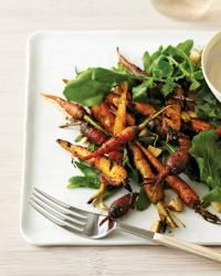 Grilled Carrot Salad with Brown Butter Vinaigrette from Foodandwine.com