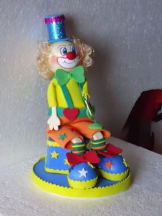 Mi Casita Artesanal: adornos para tortas infantiles