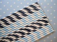 Paper Straws  Sailor Boy Duo  Light Blue by CakesAndKidsToo, $9.50