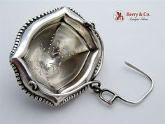 Tiffany and Company Beaded Tea Strainer Sterling Silver 1940