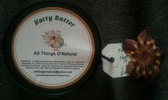 All Things O'Natural Natty Butter.  Sooooo good for hair and skin!