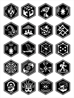 Ingress badges, although some are missing: Mission Day, Founder (only for early players), Verified (not used any more), Innovator (year 2 badge), and Seer (not applicable any more).