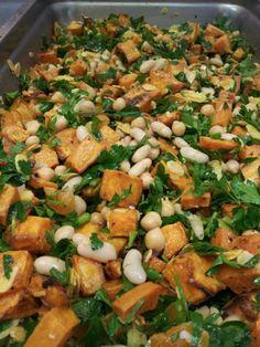 Moroccan Sweet Potato & White Bean - Maroc Désert Expérience tours http://www.marocdesertexperience.com