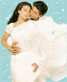 Shahrukh Khan and Kajol in Movie Kuch Kuch Hota Hai.