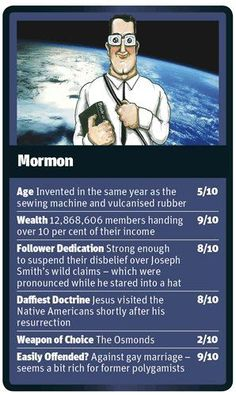 Looking for a religion ? Mormonism