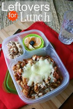 How To Make Packing Crockpot Leftovers for Lunch!