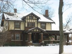 John H. and Mary Abercrombie House in Allen County, Indiana.
