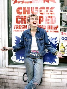 Madonna in New York City 1982 #truenewyork #lovenyc