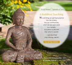 A Buddhist Teaching from Jack Kornfield