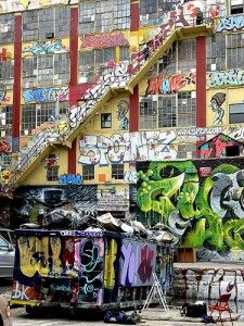 5 Pointz. been here and i love it, i would totally go again!