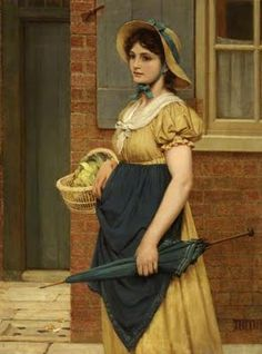 """George Dunlop Leslie - 'Sally in Our Alley"""" 1882"""