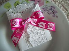 TEA PARTY FAVOR Envelope/Pocket  Tea Cup by FlowerfulCreationEtc, $2.49