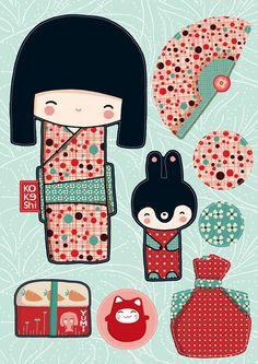 Yumi stickers