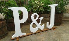 Letras decoración , especial para bodas y eventos