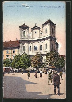 Bratislava, Old Photos, Times, Mansions, House Styles, Europe, Postcards, Pictures, Old Pictures