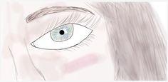 Dibujo usando la aplicación DeviantArt. Usar diferentes pinceles con texturas.
