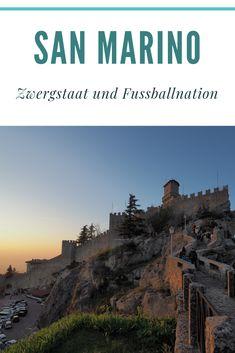 San Marino, Zwergstaat unweit der italienischen Adria - ein Staat mit einer großen Geschichte - die älteste, dauerhaft bestehende Republik der Welt.