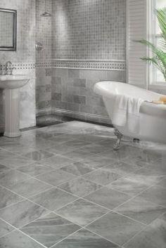 Bathroom Ideas Discover Bianco Carrara Marble Tile - 12 x 12 - 100087832 Bathroom Interior Design, Home Interior, Bathroom Tile Designs, Bathroom Styling, Small Bathroom, Master Bathroom, Bathroom Tile Showers, Bathroom Marble, Budget Bathroom
