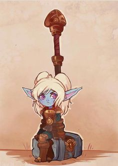 Rework de poppy (league of legends), fan art