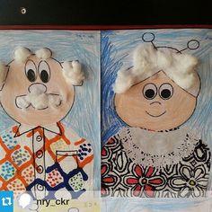 Kinderboekenweek opa en oma knutselen Grandparent's day craft idea for kids Kindergarten Crafts, Classroom Crafts, Preschool Crafts, Grandparents Day Preschool, Toddler Crafts, Crafts For Kids, Kids Diy, Grands Parents, Mothers Day Crafts