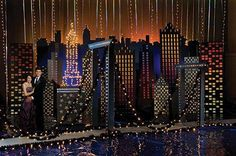 New York City Theme Party Decorations - Bal de Promo Dance Themes, Prom Themes, Event Themes, Event Ideas, New York Theme Party, Still Of The Night, Prom Decor, Empire State Of Mind, City Lights