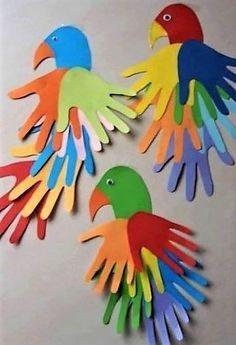 50 Awesome Spring Crafts for Kids Ideas - DIY - Basteln mit Kindern - Kids Crafts Diy Mother's Day Crafts, Diy Arts And Crafts, Crafts To Do, Diy Crafts For Kids, Craft Ideas, Kids Diy, Diy Ideas, Children Crafts, Baby Crafts