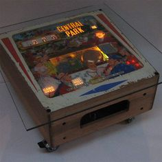 Vintage Gottlieb Pinball Coffee Table by Tilt Originals, the perfect gift for Explore more unique gifts in our curated marketplace.