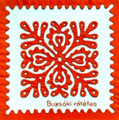 """The applique Hungarian """" Vienna is """"one of the most well-known types of Buzsák embroidery."""