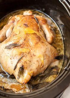 Slow Cooker Chicken in Milk