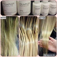 Don't leave the salon without it it will strengthen your hair before and after a color service. Natural Hair Tips, Natural Hair Styles, Long Hair Styles, Natural Beauty, Permed Hairstyles, Cool Hairstyles, Blonde Hair Care, Best Hair Mask, Hair Color Techniques
