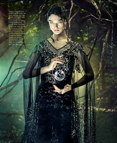 Witchcraft is the New Black - McKenna Hellam by Pari Dukovic for Harper's Bazaar US November 2018  - Gucci