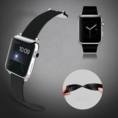 Baseus iWatch Genuine Leather Replacement Strap Wrist Band Straps for Apple Watch 42mm Classic Buckle & Modern Buckle