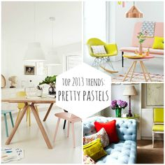 Decorate your home in these sweet sorbet hues!