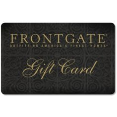 #HolidayDecor Frontgate Gift Cards. Giving the gift of choice to all my loved ones. Joy Guaranteed. Merry Christmas!