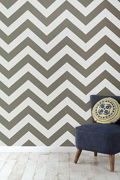 Zee Removable Wallpaper @ Urban Outfitters - could be nice on a small accent wall