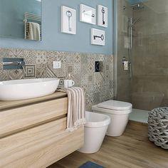 Shabby chic mirror wall bathroom ideas for 2019 Bathroom Interior, Small Bathroom Remodel Designs, Bathrooms Remodel, Shabby Chic Kitchen Table, Chic Bathrooms, Bathroom Design Small, Wall Decor Storage, Shabby Chic Mirror Wall, Bathroom Renovations