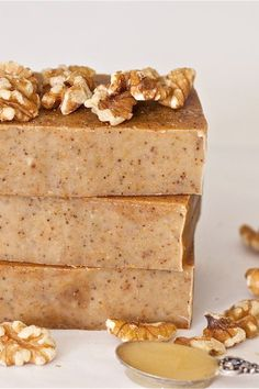 Honey Walnut Milk Soap Recipe - offbeat + inspired